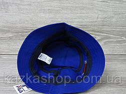 Мужская котоновая панама, панамка, вышивка в стиле Fila (реплика), размер 59, фото 3