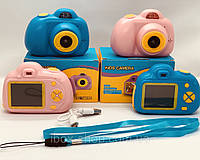 Детский цифровой фотоаппарат Smart Kids Cam TOY 3 Pink