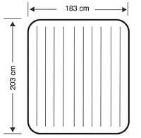 Надувной двухспальный матрас Intex 68755 (183см х203см х 22см), фото 6