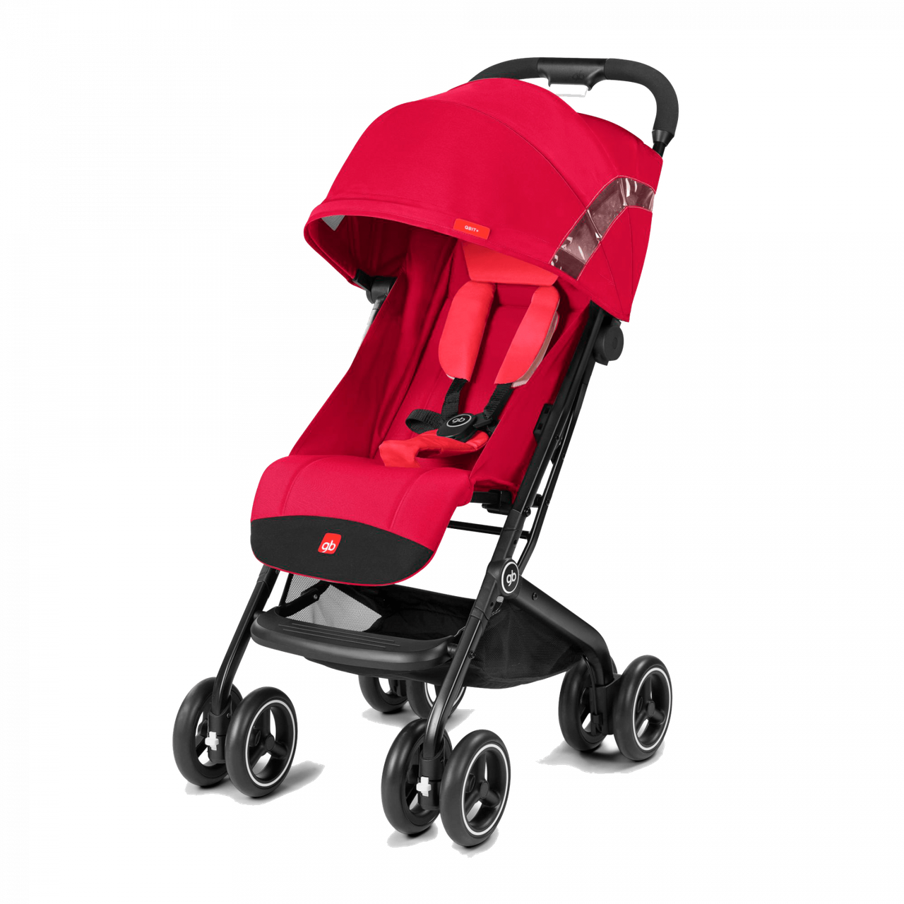 GB - Прогулочная коляска Qbit+ All-Terrain, Rose Red (2019 год)