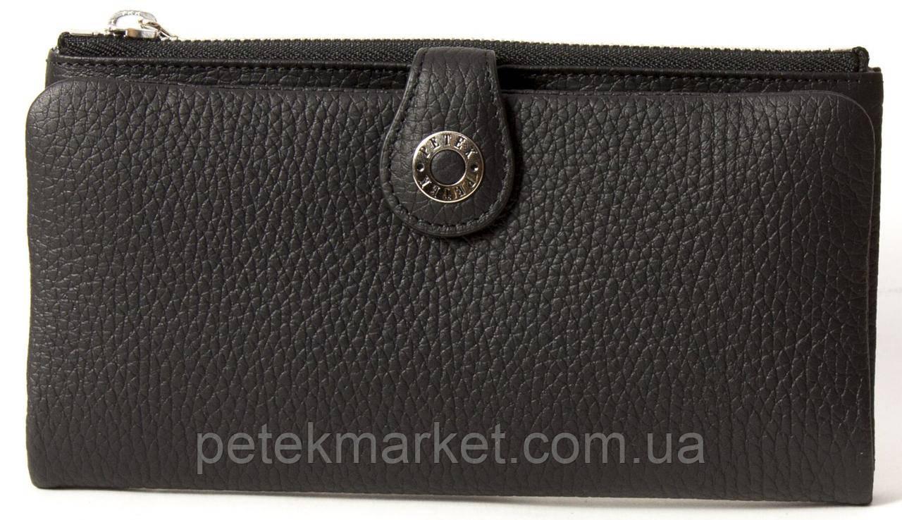 Кожаный женский кошелек Petek 474-234-01