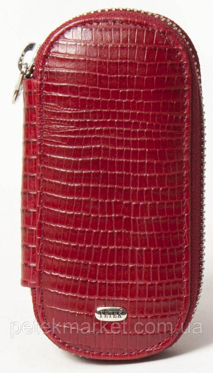 Кожаная ключница (кожаный футляр для ключей) Petek 2531-041-10