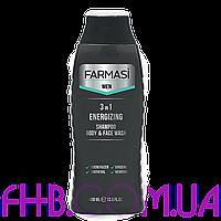 Гель для душу Farmasi Men 3in1