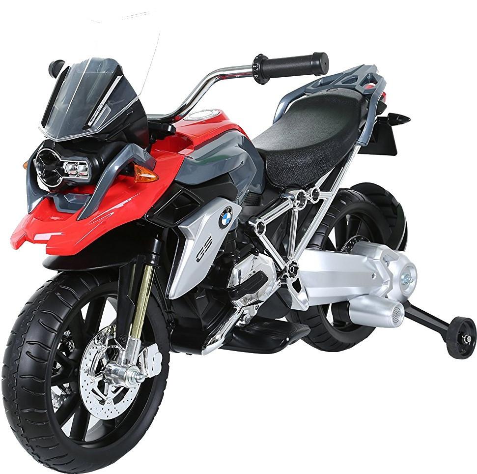 Детский  мотоцикл на педалях Rollplay BMW R1200 GS red