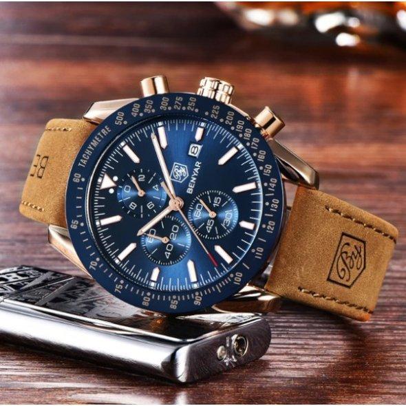 Чоловічі наручні годинники Hemsut Beynar Extra