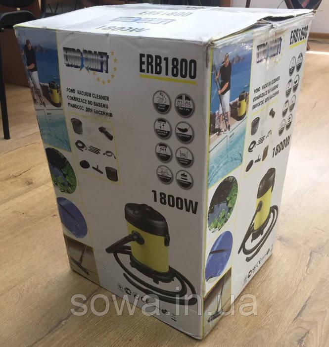 ✔️ Пилосос для басейнів Euro Craft ERB1800  ( 1800Вт, 25л )