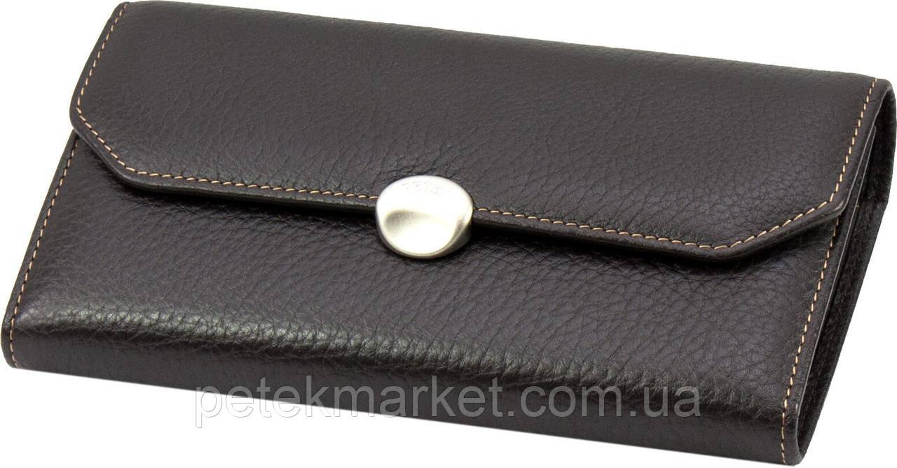 Кожаный женский кошелек Petek 408