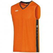 Футболка Jako Jersey Center 4101-19 цвет: оранжевый/черный