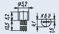 Транзистор КТ503Е эпитаксиально-планарные