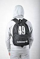 Модный черный рюкзак адидас,adidas  реплика