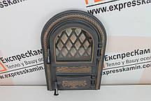 Дверцята пічні зі склом «PREMIERE» 340х540, фото 3