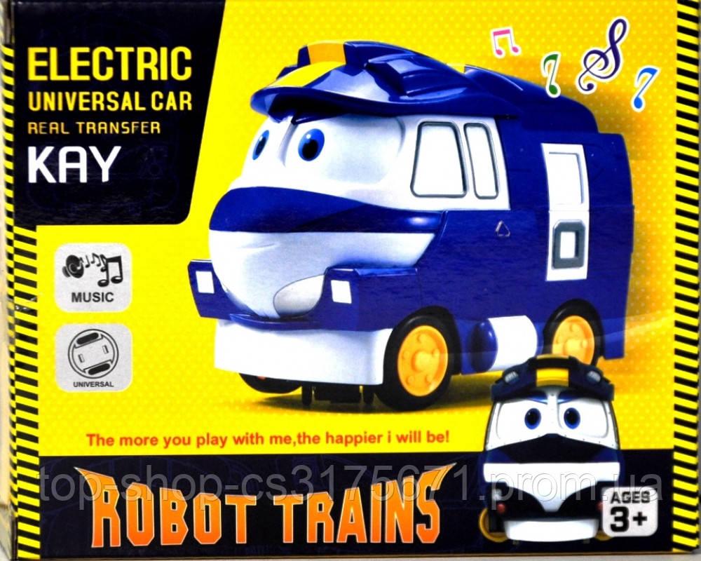 Машина музыкальная 828-5 на батарейках в коробке