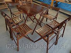 Комплект мебели для пикника — набор «Шоколад 1»: стол и стулья 4 шт, фото 2