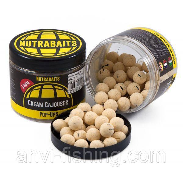 Бойлы Nutrabaits Pop-Up Cream Cajouser - 12mm