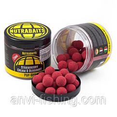 Бойлы Nutrabaits Pop-Up Strawberry - 15mm