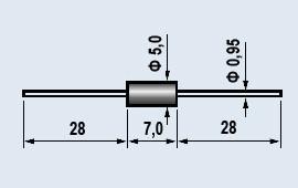 Диод 2Д106  выпрямительный