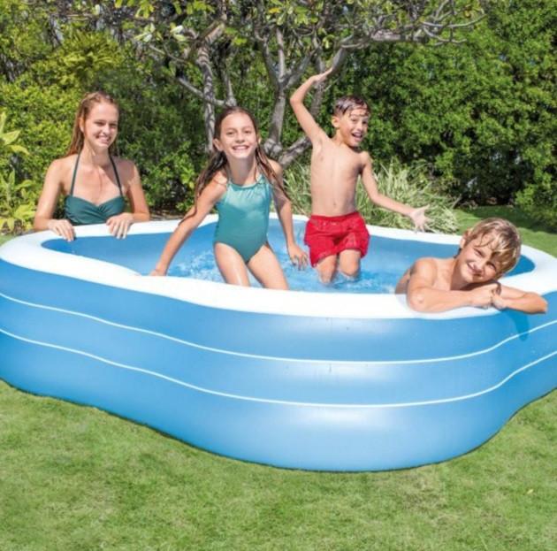 Детский надувной бассейн Intex 57495 «Семейный», 229 х 229 х 56 см