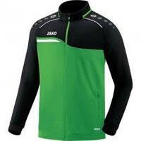 Куртка Jako Polyester Jackets Competition 2.0 9318-22 детская цвет: зеленый/черный
