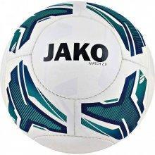 Мяч футбольный Jako Match 2.0 размер 5 2330-04 цвет: белый/синий