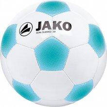 Мяч футбольный Jako Goal Classico 3.0 размер 3 2306-07 цвет: белый/голубой