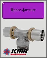 """Тройник 16х1/2""""х16 Н  ICMA пресс-фитинг"""