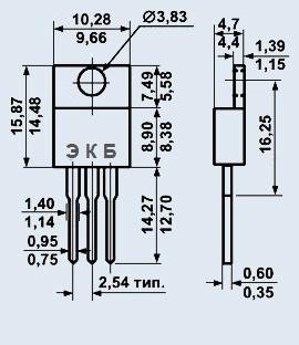 Транзистор КТ819Г мезаэпитаксиально-планарные