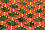 Гамак плетеный усиленный - одноместный - Красный, фото 6