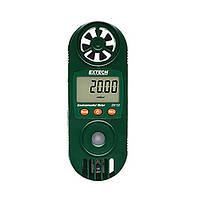 Гигрометр, термометр, анемометр Extech EN100 компактный с измерителем светового излучения