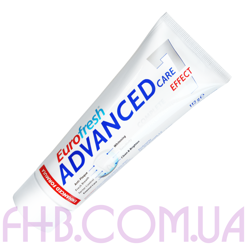 Зубна паста Eurofresh Advanced Care