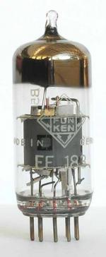 Лампа EF-80 пентод (RFT)