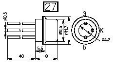 Транзистор П605А  универсальный