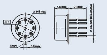 Микросхема 140УД7 операционный усилитель