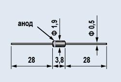 Диоды 2Д522Б эпитаксиально-планарные, импульсные