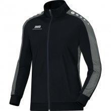 Куртка Jako Polyester Jacket Striker 9316-08 детская цвет: черный/серый