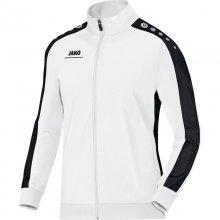 Куртка Jako Polyester Jacket Striker 9316-00 детская цвет: белый/черный