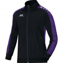 Куртка Jako Polyester Jacket Striker 9316-10 детская цвет: черный/пурпурный