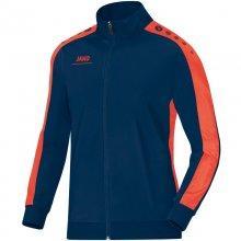 Куртка Jako Polyester Jacket Striker 9316-18 детскаяцвет: темно-синий/оранжевый