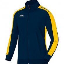 Куртка Jako Polyester Jacket Striker 9316-42 детская цвет: темно-синий/желтый