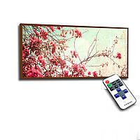 Лед картина Сакура винтаж 73х33см