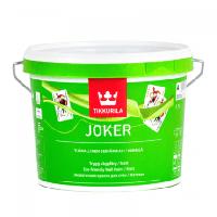 Шелковисто-матовая акрилатная краска для стен Джокер Тиккурила ( Joker Tikkurila ) 2.7 л