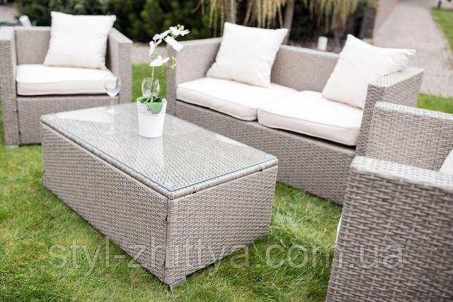Меблі для дому і саду в сірому кольорі, фото 2