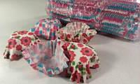 Формочки бумажные  для выпечки кексов 4,5*4см - 10*10,5 см сердце 1000шт