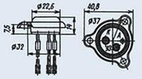 Тиристор Д238Е-ВП маломощный