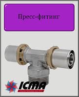 """Тройник 26х1""""х26 Н  ICMA пресс-фитинг"""