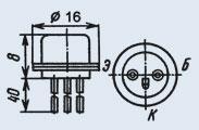 Транзистор КТ801Б сплавно-диффузионные