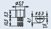 Транзистор 2Т326Б кремниевые эпитаксиально-планарные