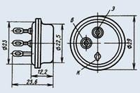 Транзистор 2Т808А переключательные низкочастотные