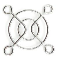 Решетка (гриль) для вентиляторов 40mm, Silver