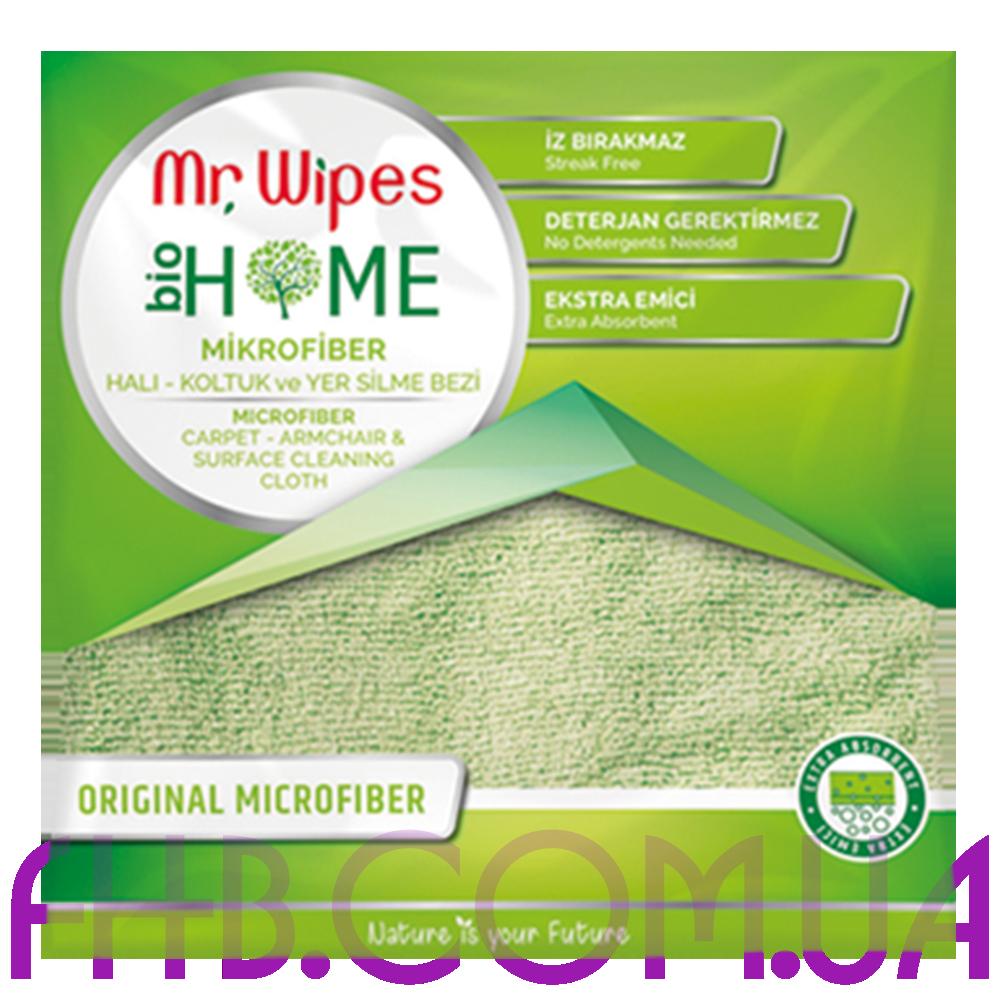Серветка з мікрофібри для тканинних поверхонь Mr.Wipes