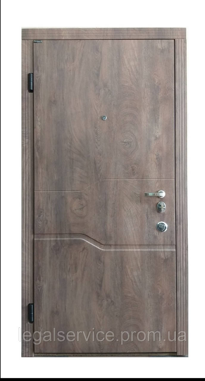 """Вхідні сталеві двері """"Порталу"""" (серія Стандарт) модель Лозана"""